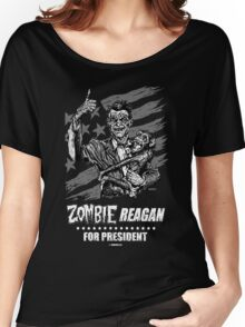 Zombie Reagan for President Women's Relaxed Fit T-Shirt