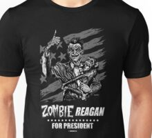 Zombie Reagan for President Unisex T-Shirt
