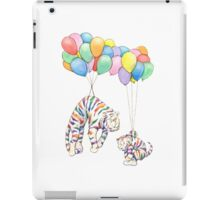 Rainbow Tigers and Balloons iPad Case/Skin