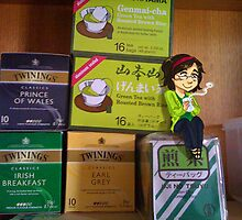 Tiny Tea Drinker by LaPetite