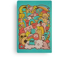 Doodleicious Canvas Print