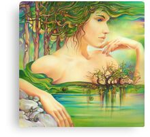The Emerald Lake Canvas Print