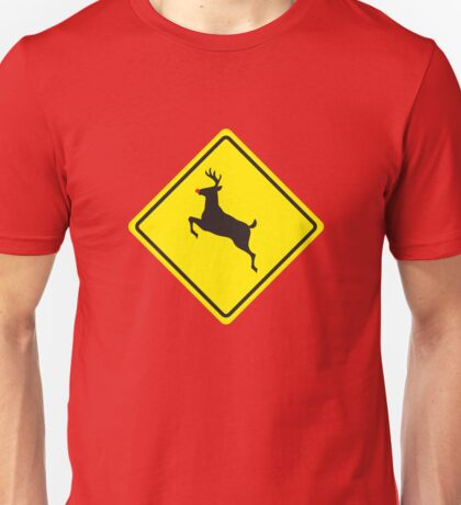 Rudolph Crossing Unisex T-Shirt