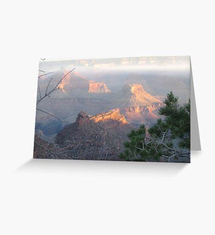 Grand Canyon Sunrise Greeting Card