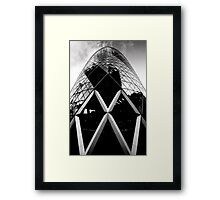 The Gherkin Framed Print