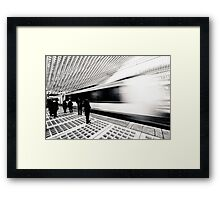 Connecting Framed Print