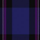 00480 Earl Blue Marl Tartan Fabric Print Iphone Case by Detnecs2013