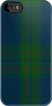 00490 Lands End Blue Tartan Fabric Print Iphone Case by Detnecs2013