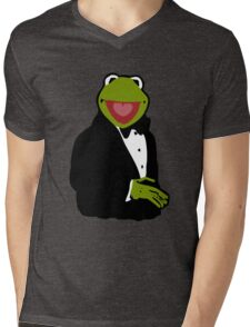 Classy Kermit Mens V-Neck T-Shirt