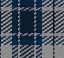 00492 Longniddry Blue Dance Tartan Fabric Print Iphone Case by Detnecs2013