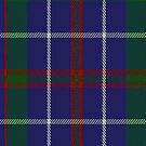 00493 MacHardy Blue Tartan Fabric Print Iphone Case by Detnecs2013
