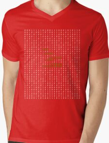 Bow down before your robot overlords Mens V-Neck T-Shirt