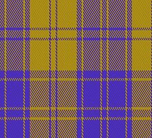 00495 MacLachlan Blue (Chief's Dress) Tartan Fabric Print Iphone Case by Detnecs2013