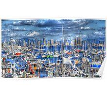 Sail Away San Diego Poster