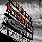 Pike's Market Sign by Jake Junge