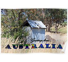 GREETINGS FROM AUSTRALIA Poster