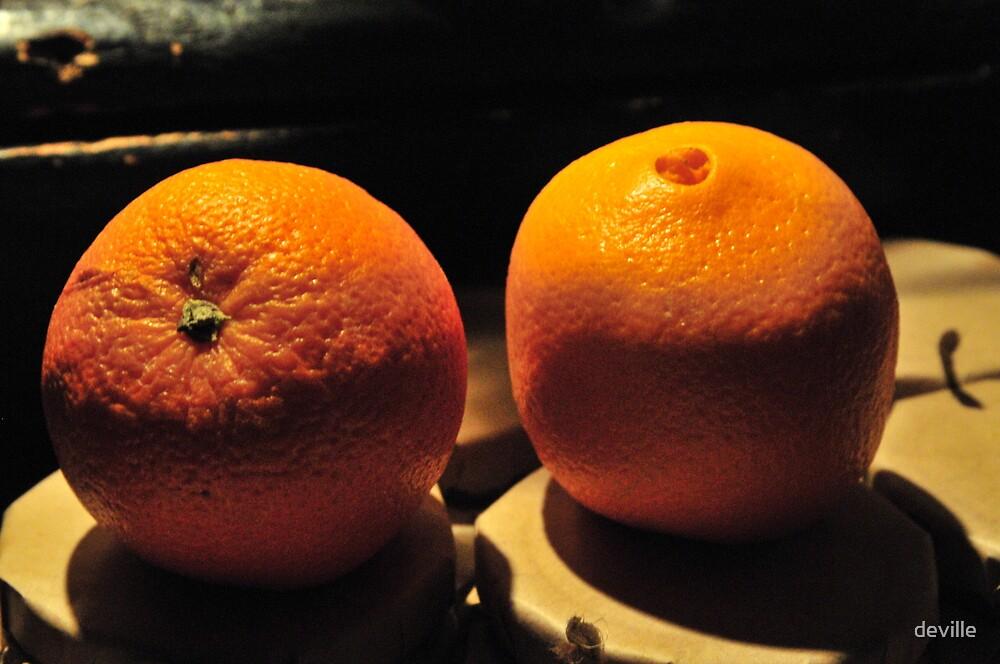 we are orange by deville