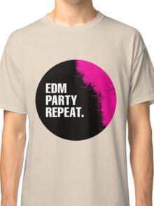 EDM Party Repeat Classic T-Shirt