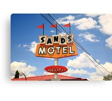 Route 66 - Sands Motel Metal Print