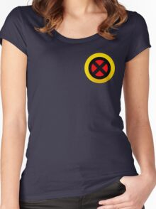 X-Logo Women's Fitted Scoop T-Shirt
