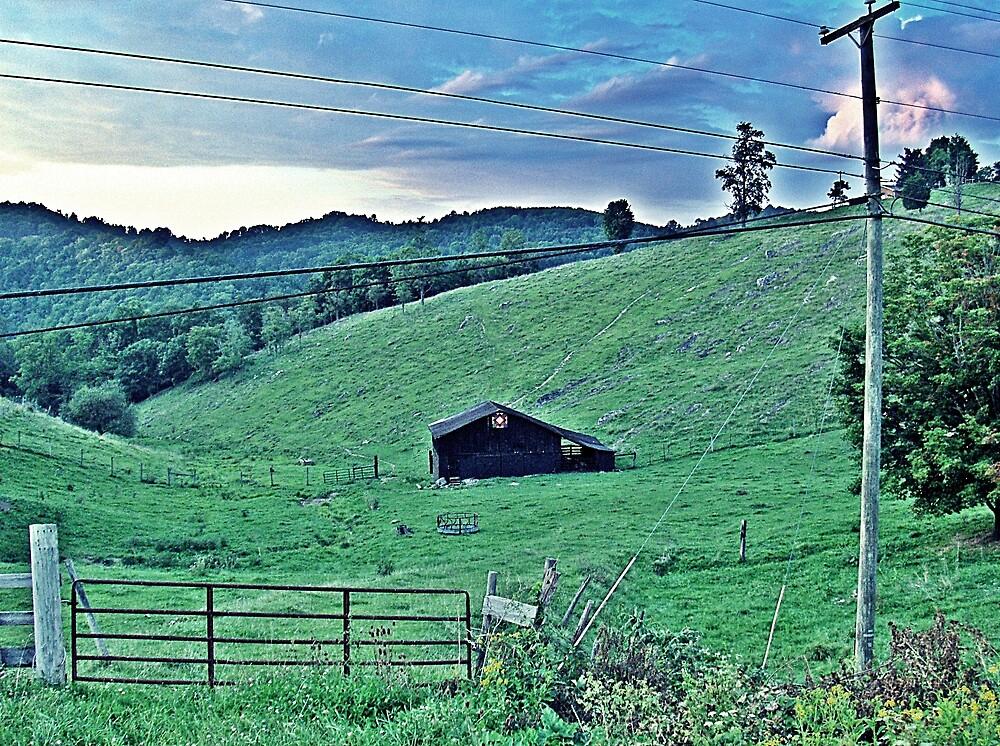 Farm On The Rocks by Paul Lubaczewski