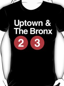 Uptown & The Bronx T-Shirt
