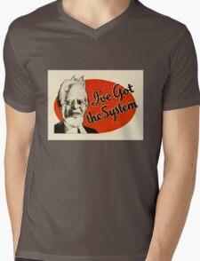 I've Got The System Mens V-Neck T-Shirt
