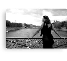 Feminin[c]ity - Paris Canvas Print