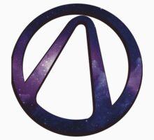 borderlands 2 vault symbol galaxy Kids Tee