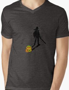 Becoming a Legend - Link:Original Mens V-Neck T-Shirt