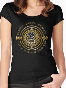 Time Turner Travels Women's Fitted Scoop T-Shirt