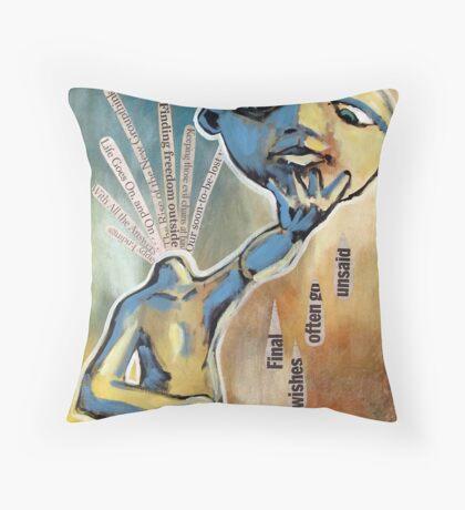 Speechless (brainstemming.com) Throw Pillow