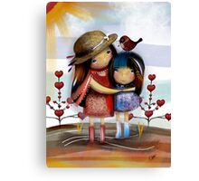 Love and Friendship Canvas Print