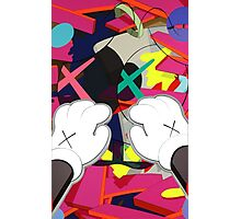 Kaws Paws Photographic Print