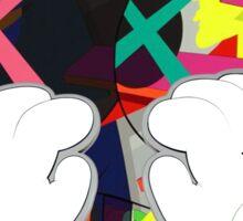 Kaws Paws Sticker
