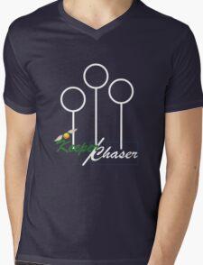 Keeper/Chaser Design Mens V-Neck T-Shirt