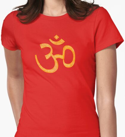 Big Yellow OM Womens Fitted T-Shirt