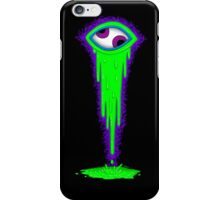 Crazy Eye - Green iPhone Case/Skin