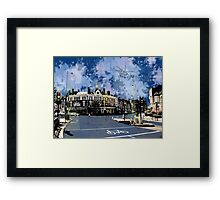Amen Corner, Tooting, SW17, London Framed Print