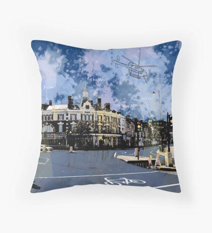 Amen Corner, Tooting, SW17, London Throw Pillow