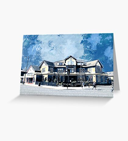The Long Room, Tooting, SW17, London Greeting Card