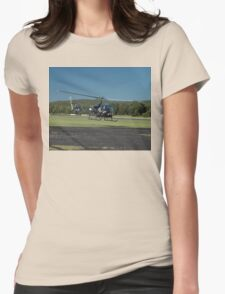 Evans Head Airshow 2010 - Bell 47 Womens Fitted T-Shirt