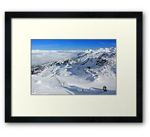 Horstman T-Bar at Blackcomb Framed Print