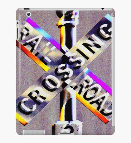 Railroad Crossing! iPad Case/Skin