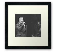 Rick Price Sings Framed Print