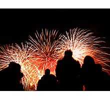 Guy Fawkes Fireworks II Photographic Print