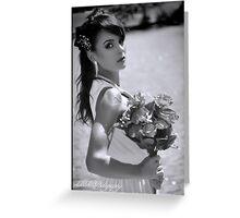 BW Bridal Greeting Card