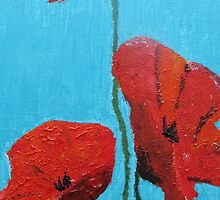 Poppies by Sarah Langford