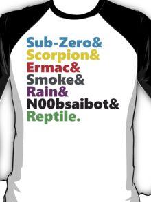 Mortal Kombat - Ninja Beatles T-Shirt