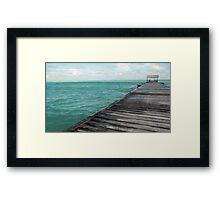 Ocean View - Cuba Framed Print